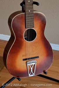 Sears Silvertone 605 Guitar Body