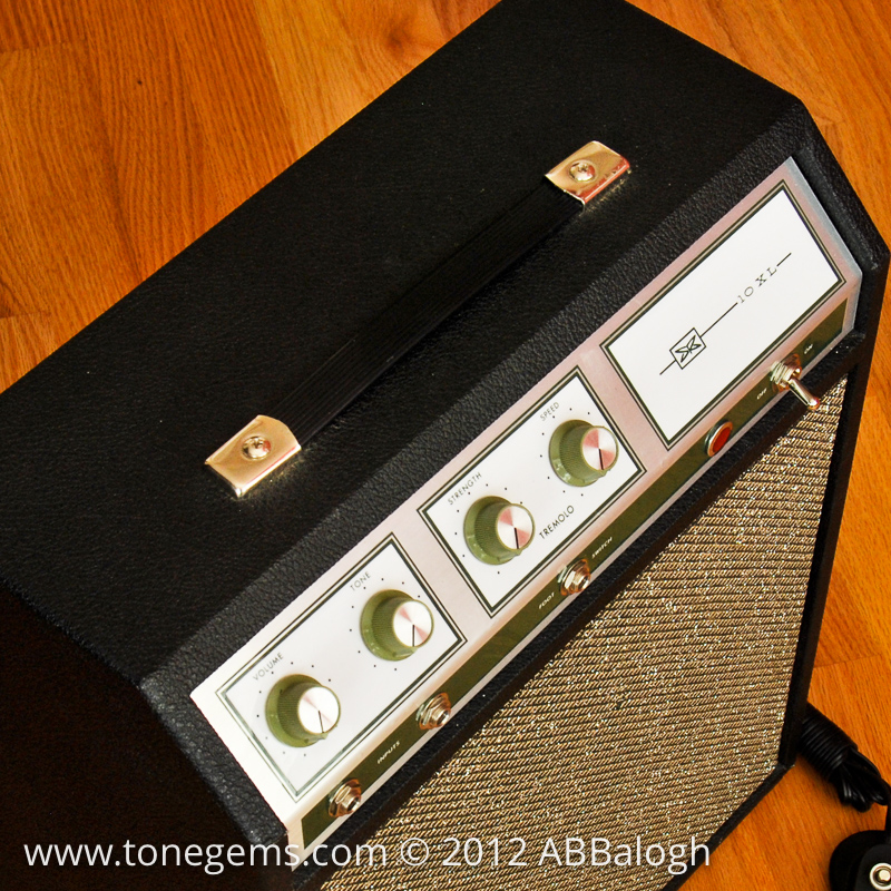 Silvertone 1421 (Sears 10 XL) Guitar Tube Amp | Tone Gems