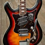Silvertone 1445 Electric Guitar