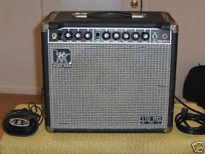Music Man 110 RD Fifty with foot switch