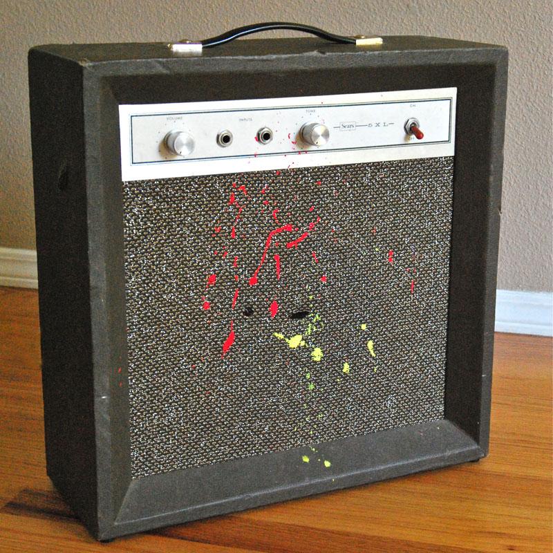 Vintage Sears 5XL Silvertone 1420 Guitar Tube Amp