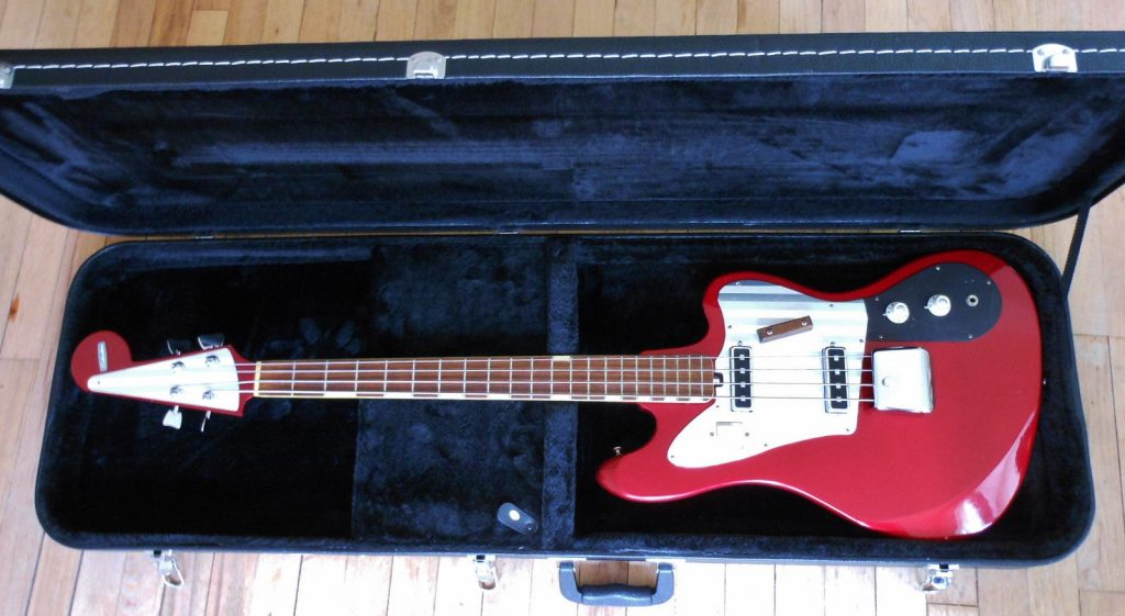 Sears 1965 Silvertone 1438 Bass Guitar by Teisco (NB-4)
