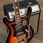 Silvertone 1445 Guitar and Silvertone 1421 Amp