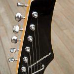 Silvertone 1445 Guitar Headstock with Block Logo