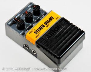 Arion SAD-1 Stereo Analog Delay Pedal