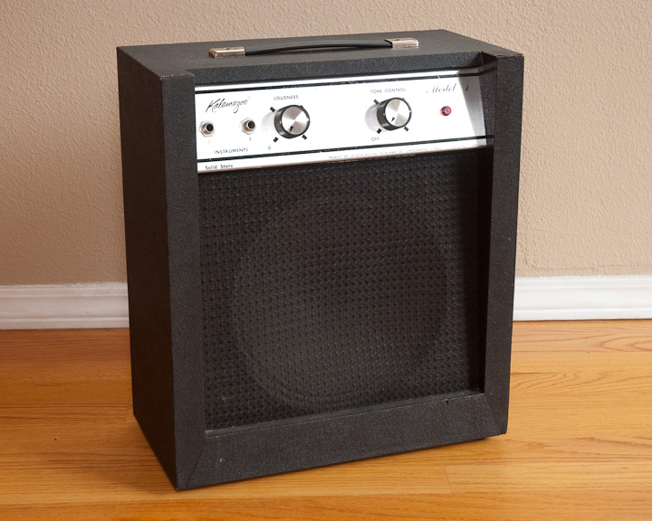 Kalamazoo Model 1 Solid-State Guitar Amp