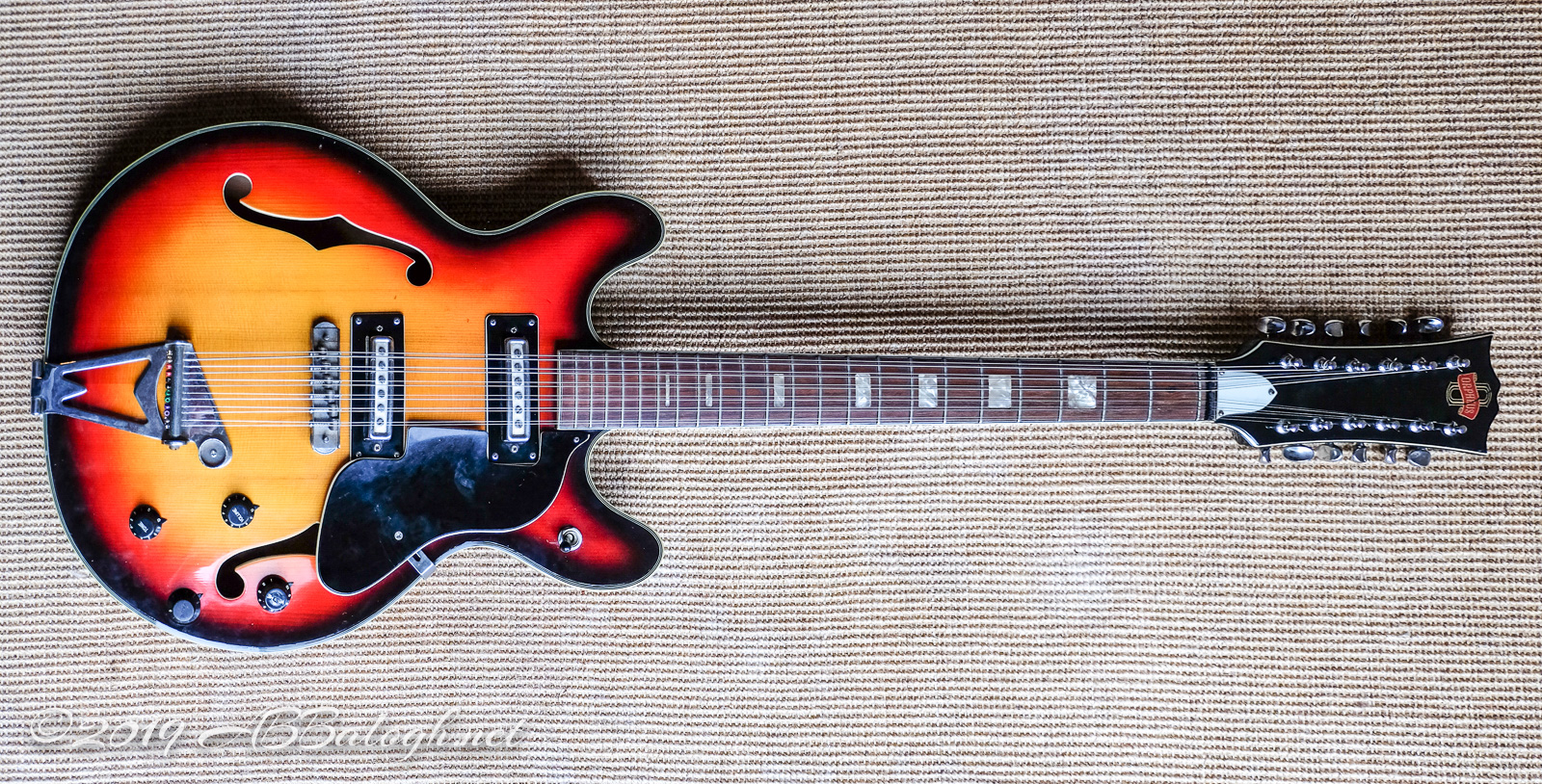 1970s Orpheus 12-String Electric Guitar